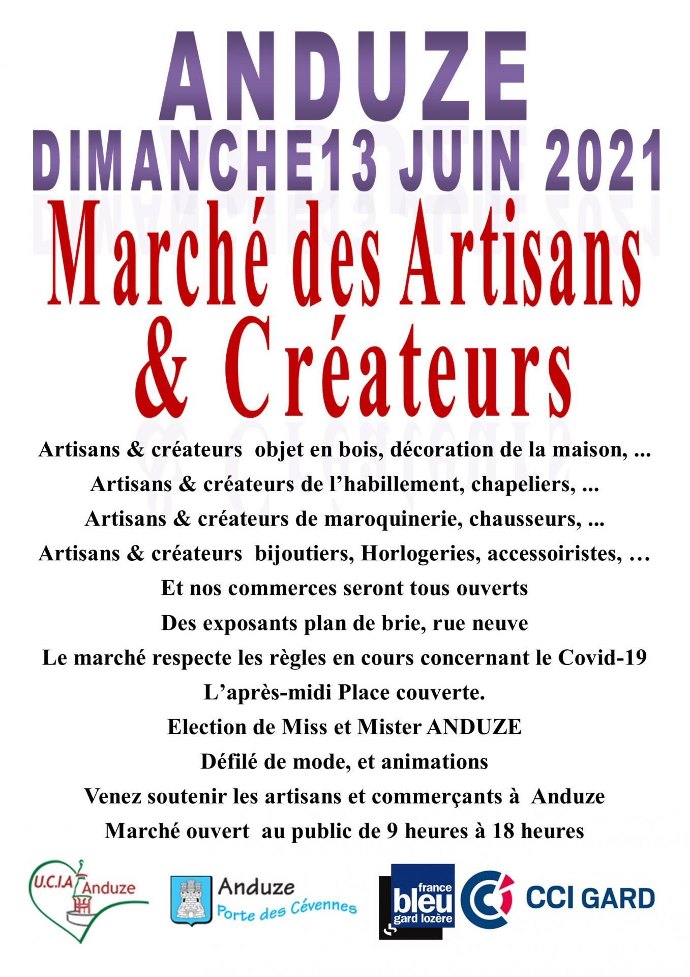 Affiche 13 juin createur et miss