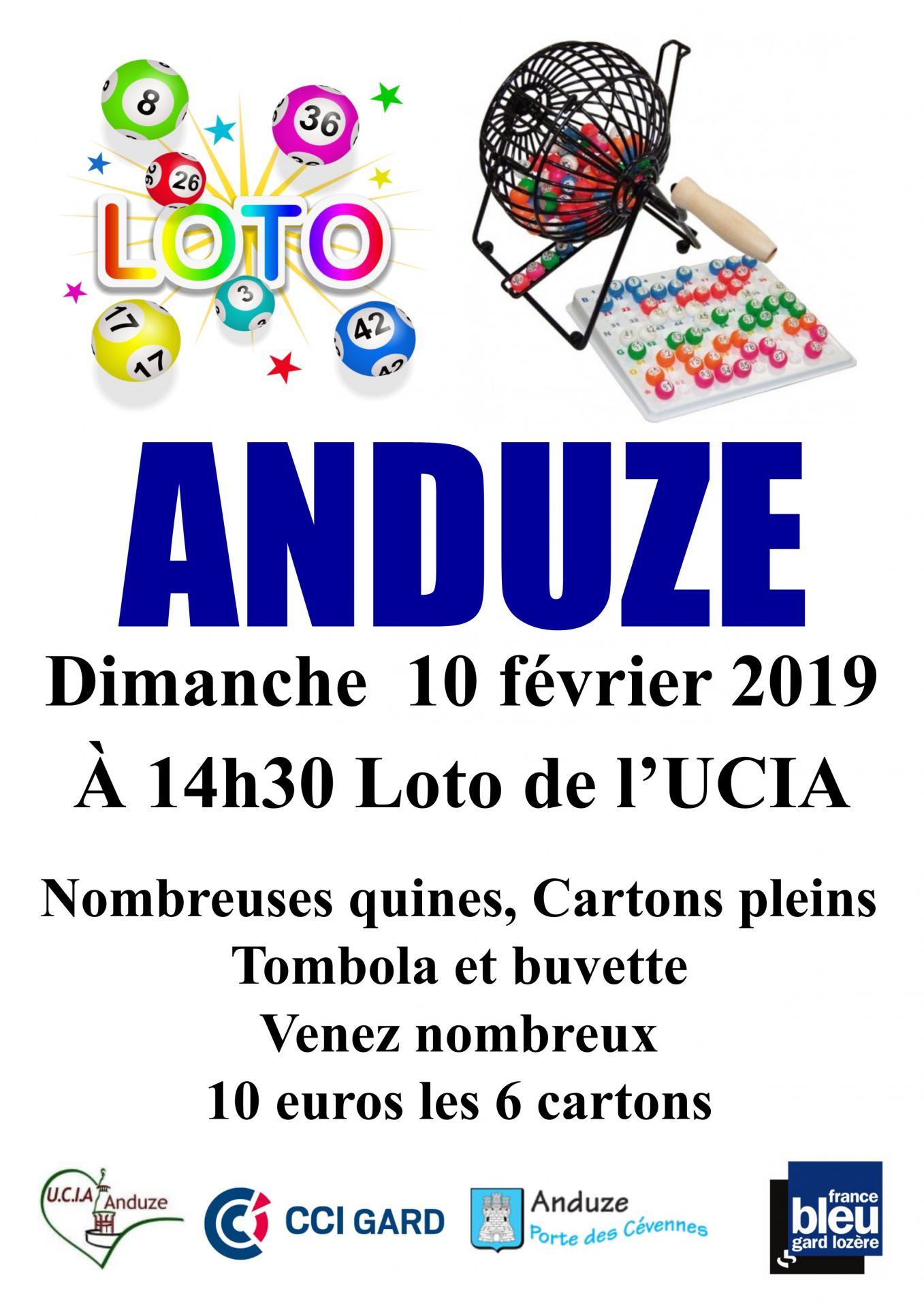 Affiche 2 loto 10 02 2019