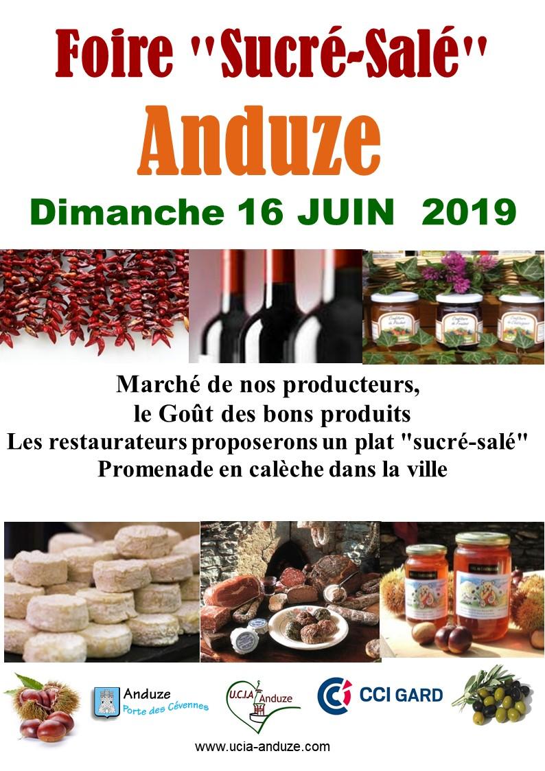 Affiche sale sucre 2019