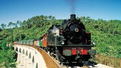 Le petit train a vapeur